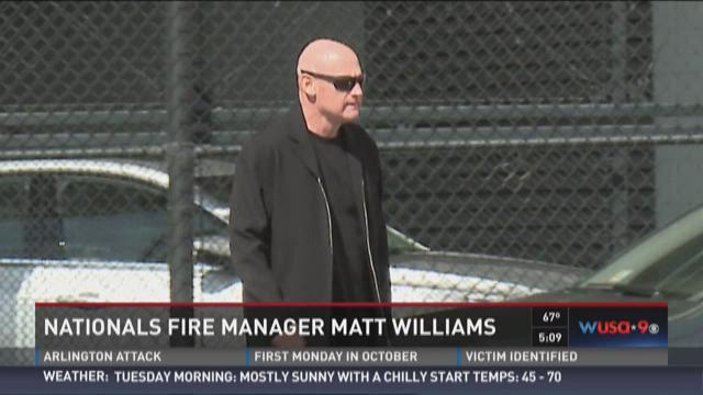 Nationals fire manager Matt Williams