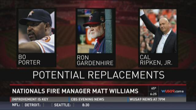 Nationals: Potential Replacements