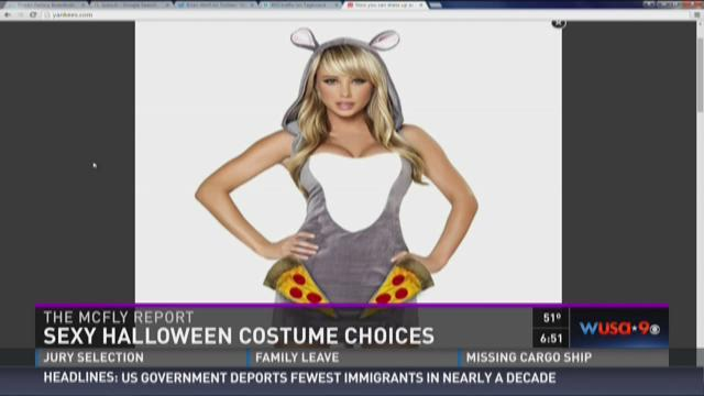 McFly Report: Sexy Halloween costume choices