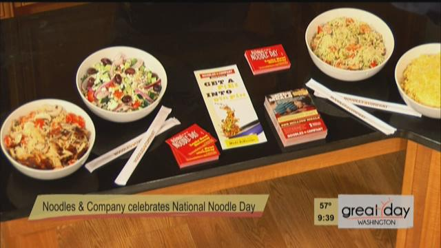 National Noodle Day with Noodles and Company