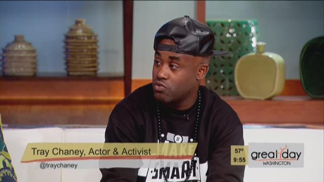 Tray Chaney Speaks Out Against Bullying