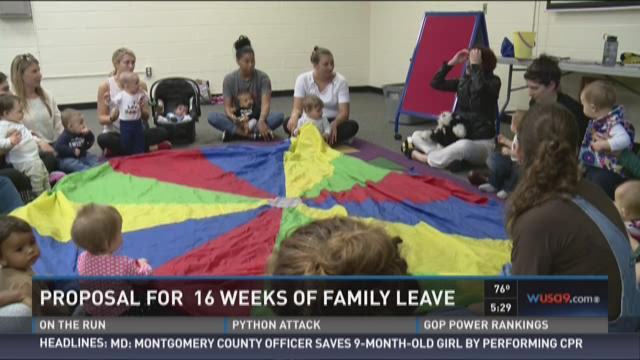 DC proposes 16 weeks of family leave