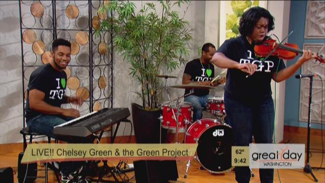 "Chelsey Green Live Performance for ""A Red Note Evening"""