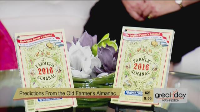 Farmer's Almanac Winter Prediction