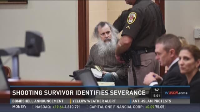 Shooting survivor identifies Severance