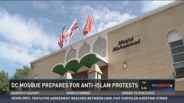 DC mosque prepares for anti-Islam protests