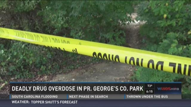 Deadly drug overdose in Prince George's County Park