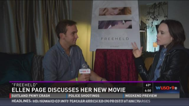 McFly Report: Ellen Page talks about new movie