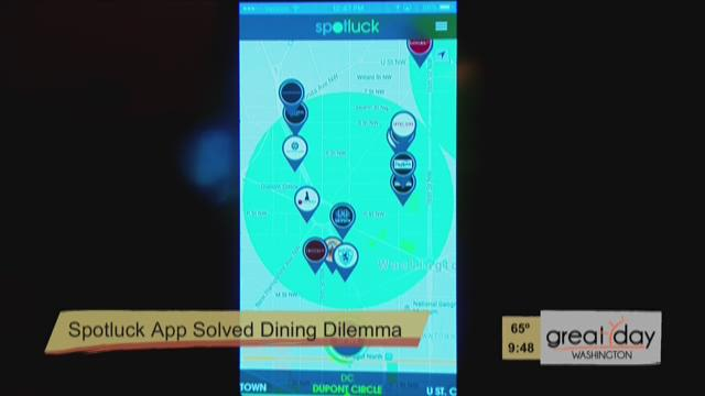 Bethesda Locals Creates SpotLuck App