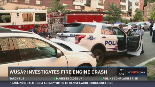 WUSA9 Investigation: Fire truck crashed after repair