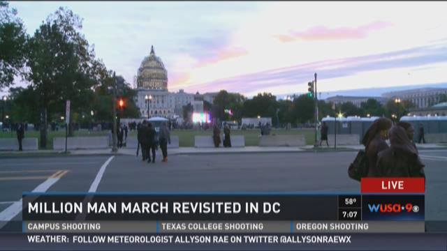 Million Man March revisited in D.C.