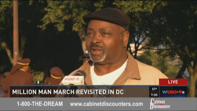 Million Man March revisited in DC