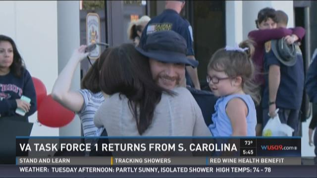 Va. Task Force 1 returns from South Carolina