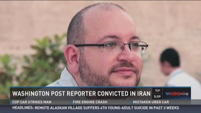 Washington Post reporter convicted in Iran
