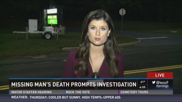 Missing man's death prompts investigation