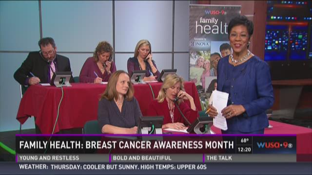 Family Health: Breast Cancer Awareness Month