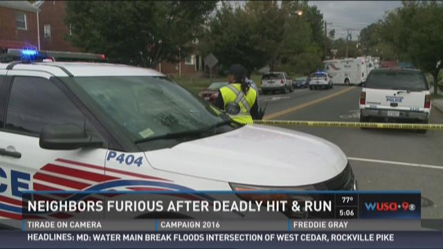 Neighbors furious after deadly hit and run