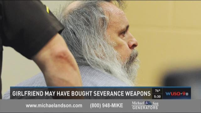 Girlfriend may have bought Severance weapons