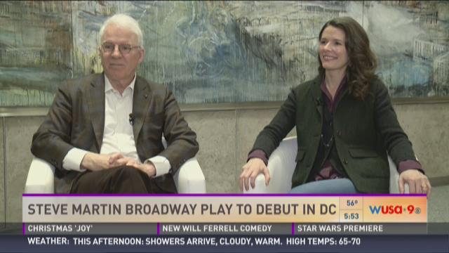 Steve Martin Broadway play to debut in DC